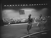 Stock Video Footage of Vintage Sports_Athletics 06