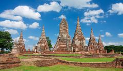Wat chaiwattanaram Stock Photos
