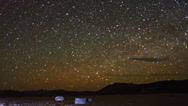 Stock Video Footage of Galaxy Stars Night Timelapse over Racetrack Playa Death Valley