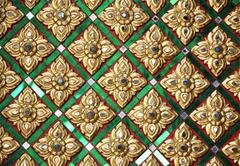 thai pattern - stock photo