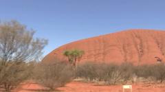 AustralianOutbackMountains2 Stock Footage