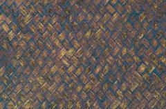 Bamboo mat background Stock Photos