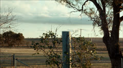 Australian countryside Stock Footage
