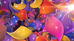 Colored Confetti Shapes VBHD0449 Stock Footage