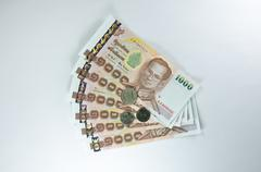 banknote - stock photo