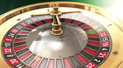 3D roulette VBHD0434 - stock footage