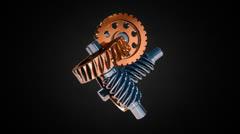 Gear machine VBHD0438 Stock Footage