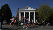 Stock Video Footage of Marathon race EDITORIAL USE ONLY