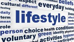 Lifestyle creative words message Stock Footage