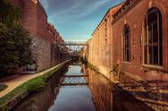 C&o canal, georgetown, washington dc Stock Photos