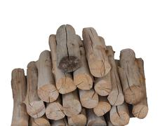 Wood for fire. Stock Photos