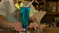Coctail Stock Footage