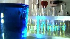 Vials - stock footage