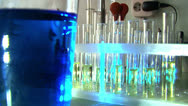 Stock Video Footage of Vials