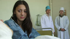 Medical personnel Stock Footage