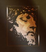 Jesus Portrait Stock Illustration