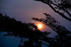 Auringonlaskua Kuvituskuvat