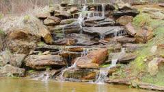 Stone Waterfall - stock footage