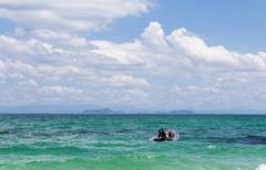 beautiful seascape unseen thailand - stock photo