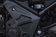 motorcycle  engine - stock photo