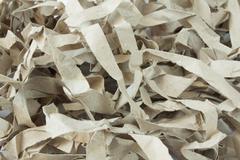 paper slices - stock photo