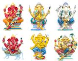 Stock Illustration of hindu ganesha god