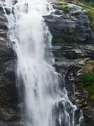 Vachiratar waterfall in inthanon nation park in chiang mai, thailand Stock Photos