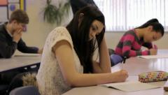 Test / Exam - stock footage