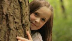 Tree peek Stock Footage