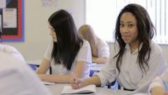 High school student Stock Footage