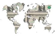 Stock Illustration of MAP of the World Design