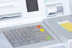 Atm for withdraw your money Stock Photos