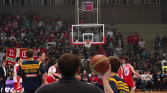 Basketball Game Stock Footage