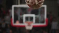 Basketball Hoop - stock footage