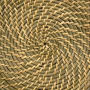 Bamboo spiral - stock photo