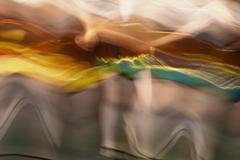 Captured movement - stock photo
