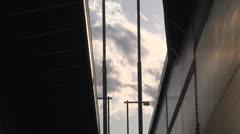 Bridge,Cloud,Time lapse Stock Footage