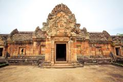 Phanom rung castle Stock Photos