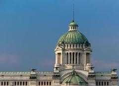 Beautiful Italian neo-classic Dome Stock Photos