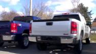 Stock Video Footage of Trucks, Pickups, SUVs, New, Auto Dealership Lots
