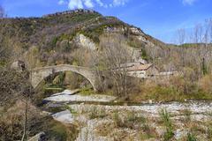 Pont of cabreta Stock Photos