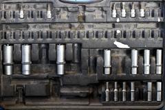 Mecanic sockets - stock photo
