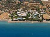 Stock Photo of resorts in rhodes, greece, aerial view