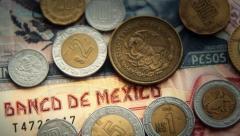 Mexican Pesos 2 Stock Footage