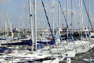 Stock Photo of Port of Royan in France