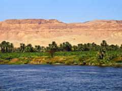 Nile river, egypt Stock Photos