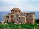 Stock Photo of ayia sophia church at monemvasia, greece