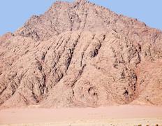 Mountain in the sinai peninsula, egypt Stock Photos