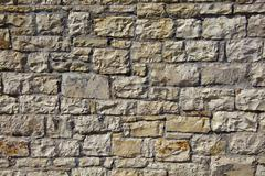 stone wall pattern - stock photo