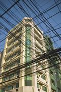 Vanha Manilla rakennus Kuvituskuvat